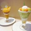 和光ティーサロン @銀座 夏の味覚を贅沢パフェで【メロンパフェ&マンゴーパフェ】