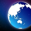 遠い未来の太陽と月&地球
