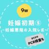 【9w/妊娠初期⑤】重症妊娠悪阻での入院生活レポ&PCR検査