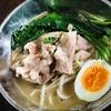 【簡単料理編】移動ラーメン屋さんの豚骨スープを再利用してうどんを作りました。