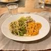 ブロッコリーとオイルサーディンのパスタ、トマトクリームパスタ、鶏肉と長ネギのオーブン焼き