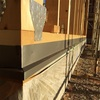 土台水切りとガルバリウムの屋根
