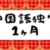 【中国語のすゝめ#1】実は1ヶ月中国語を勉強しています。