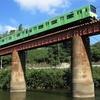 電車と川を求め大和路線の鉄橋へ