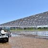 ソーラーシェアリング:秋田県南秋田郡井川町で水田ソーラーシェアリングが完成 - 北東北初の事例