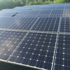 一条工務店の野立て太陽光パネル 半年たった様子 汚れ具合