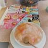 ★とろーり白桃&「カルピス」のかき氷¥599