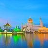 ブルネイのオールドモスクの夜景が美しい!!