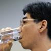 ◇原発処理水を飲む政務官