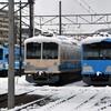 近江鉄道 雪の記録(2020-21) <12> 彦根の雪 (1/30-Ⅳ)