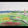 水彩画 石狩灯台 2020 6月14日(日)