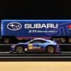 トイザらスオリジナル SUBARU STI Motor sport レーシングトランスポーター&トミカプレミアム No.18 SUBARU BRZ R&D SPORT