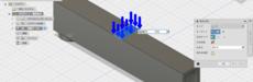 「ぼくの考えたいちばんつよい橋っぽいもの」をfusion360でつくって解析する