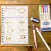 子どもの料理用に手描きのレシピ