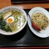 長崎空港から飛び立つ前に、大村ICから高速に乗る前に「上海物語」で本格中華料理を!