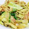 野菜炒めカレーマヨネーズ風味