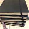 圧倒的な思考記録のノートたち。