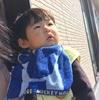 3/24 日向ぼっこ モデルちゃん2歳11ヶ月