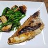 鯛の味噌焼きとフライパンで作る三つ葉たっぷりの茶碗蒸し