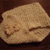 手編みのマフラーとこのごろ読んだ本と負けて悔しい涙がぽろっ。