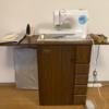 年代物のブラザーのミシン台を手入れして使ってみた