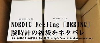 【福袋】腕時計の福袋「BERING」の内容を公開【NORDIC Feelingネタバレ】