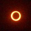 金環日食 @ モルディブ  写真が届きましたァ。