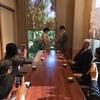 掛川市顔合わせ食事会レストランの個室でお祝い!