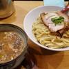 月と鼈(つきとすっぽん)@新橋【濃厚煮干しつけ麺 特盛】