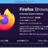 Firefox ESR 78.2.0