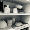 【キッチン】食器を引き出しに収納する。食器棚なし/掃除が楽