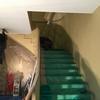 ビル内部螺旋階段塗装工事