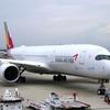 アシアナ航空A350ビジネスクラス搭乗記【OZ111便 関空-ソウル(仁川)】