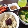 本日の食事と運動。