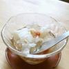 秋の薬膳、白木耳と梨のコンポート