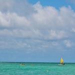 「カイルアビーチパーク」~オアフ島イーストコーストではやはりここに、ホワイトサンドの絶景ビーチ!!