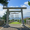 ≪千葉館山市≫布良崎神社と富士山