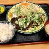 🚩外食日記(226)    宮崎ランチ       🆕「とんかつ十兵衛」より、【ねぎ味噌上ロース定食】‼️