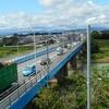 入間川沿いの遊歩道を歩く 『 昭代橋~いるまがわ大橋  』