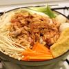 無水調理による自作とり野菜みそ鍋
