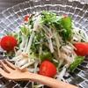 大根と水菜の梅肉ドレッシング【#大根 #水菜 #梅肉 #レシピ #作り置き】
