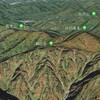 Google Earthで日本二百名山 / 朳差岳 / 二王子岳 / 御神楽岳 / 会津朝日岳 / 守門岳