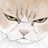 【イラスト】猫:小雪ちゃん【似顔絵】