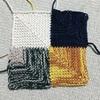 ドミノ編みが楽しい🎶