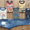 トイズマッコイ/TOYS McCOY キャラクタープリントTシャツを可愛くジャパンブルージーンズCALIFに合せてみました(^^♪