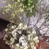 玄関の花 紫陽花がドライフラワーに