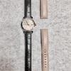 腕時計のベルト新調!シックな腕時計に生まれ変わったよ