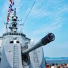 バイクで海上自衛隊の輸送艇2号・護衛艦あさゆき・護衛艦きりしまの一般公開に行ってきた