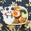 パンダ弁当と猫の置き弁とフジスーパーで時々10Bで販売されるおいしいカップ麺/My Homemade Lunch/ข้าวกล่องเบนโตะ