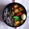 52冊目『二菜弁当』から6回めはキーマカレー弁当
